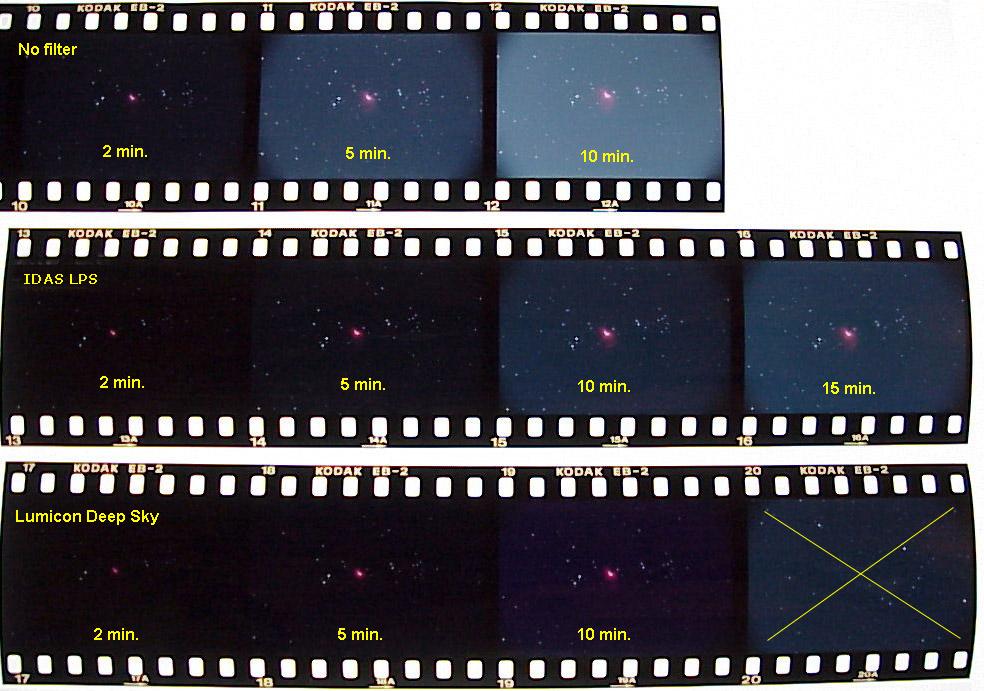 Défiltrage d'un 350D Frames
